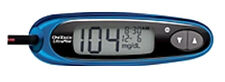 OneTouch UltraMini Glucose Monitoring System - BLUE  (1 unit)