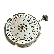 Miyota 8205 Automatic Manual Winding Mechanical Day Wide Date Japan Movement
