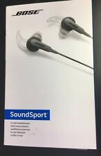 Genuine Bose SoundSport In-Ear Headphones Charcoal- SoundSport IE HP