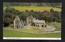 Posted 1980 View of Valley Crucis Abbey, Llangollen