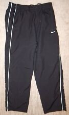 NIKE Black Cold Weather Gear Lined Running / Track Pants / Sweatpants Men's XL