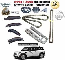 FOR BMW MINI CLUBMAN COOPER D SD 2.0D R55 2010--  UPPER + LOWER TIMING CHAIN KIT