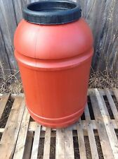 200 Litre Tan Food Grade Plastic Drums