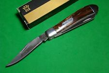 "3 1/2"" Imperial Schrade Mini Trapper Pocket Knife Acrylic Hdls SS Bld IMP16T"