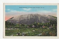 USA, Stone Mountain, 16 Miles from Atlanta Postcard, A809