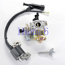 Carburetor Choke lever Ignition Coil Module For HONDA GX200 5.5HP & 6HP Carby