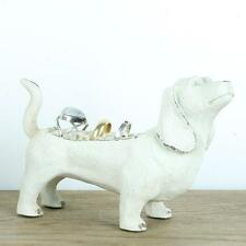 Dog Ring holder Jewellery Hanger Holder Stand Metal Shabby Chic Rings Animal