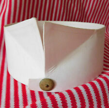 Vintage wing collar for shirt 15 1/2 Turnbull & Asser Jermyn St starched c 1930s