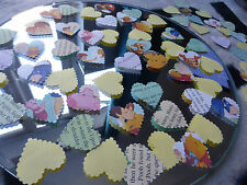 75 WINNIE THE POOH BIRTHDAY PAPER HEARTS BABY SHOWER CONFETTI DECORATIONS