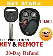 NEW KEYLESS ENTRY REMOTE KEY FOB TRANSMITTER for LHJ011 + Chvy KEY Free Program