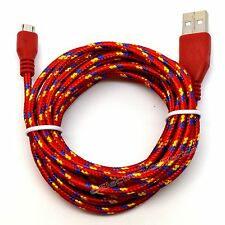Micro USB 2.0 cable For Android Cell Phone Charging data Sync Charger Cord Lot