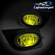 [Yellow Lens]2006 2007 2008 Honda Civic Sedan LX/EX Fog Lights Lamps Assembly