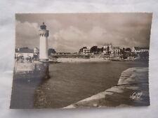 Ancienne carte postale Quiberon petite plage colonie du Chartres Port Haliguen