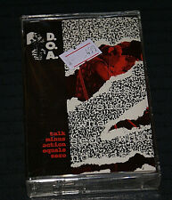 D.O.A. Talk - Action = 0 NEW 1991 CASSETTE TAPE SEALED MINT SS MINT OUT OF PRINT