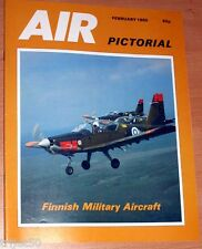 Air Pictorial 1985 February Finland,Tornado,Boeing 767,Hungary,RAF Shawbury