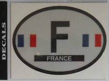 France French Country Flag Oval Decal