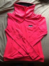 "Victoria's Secret PINK ULTIMATE HIGH NECK sports PULLOVER string HOT PINK ""L"""