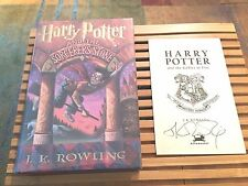 Harry Potter and the Sorcerer's Stone, J.K. Rowling (1998), *1ST/1ST*, *SIGNED*