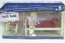 Barbie Tutti Todd Dutch Bedroom furniture set by Suzy Goose from 1965 NRFB RARE!