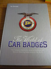 THE WORLD OF CAR BADGES,  GUIDE TO THE ROYAL AND NATIONAL MOTORING BADGES BOOK