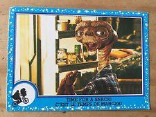 Classic E.T. Bubblegum Cards 1982