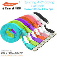 Hi-Speed 7X3ft USB 2.0 A to Micro-USB B Cable for Blackberry,HTC,Google,Samsung