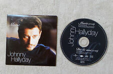 "CD AUDIO MUSIQUE FR / JOHNNY HALLYDAY ""MARIE / DIS-LE MOI"" CD SINGLE  2T 2002"
