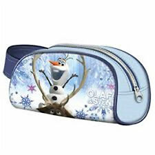 Disney FROZEN Olaf Sven - Pencil / Vanity Case with Zip - Size: 21 x 11 x 6 cm
