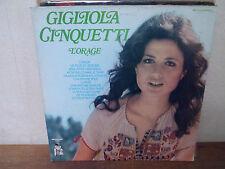 """LP 12"""" GIGLIOLA CINQUETTI - L'orage - EX/EX - MR PICKWICK - MPD 216 - FRANCE"""