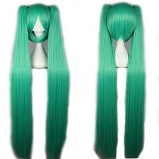 30%off Lady Cosplay Hatsune Miku Haircut Full Wig Multi Color Long Straight Wigs