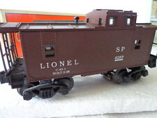 "LIONEL ""O"" AND ""027 SP 6257 LIGHTED CABOOSE DIE CAST TRUCKS"