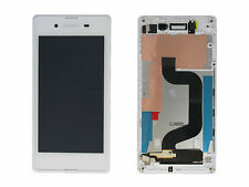 Genuine Sony Xperia E3 D2203 White LCD Screen & Digitizer with Frame - A/8CS-590