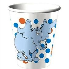 ~HORTON HEARS A WHO Dr SEUSS ~8- PAPER CUPS PARTY SUPPLIES