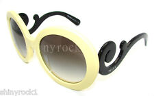Authentic PRADA Round Yellow Sunglasses PR 27N 27NS - DG30A7  *NEW*