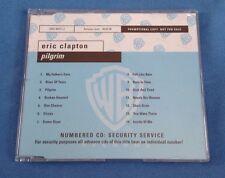 ERIC CLAPTON - 'PILGRIM' - 14 TRACK PROMO CD - 9362465772 - PROP340