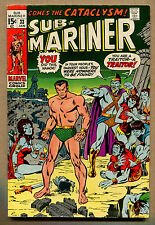 Sub - Mariner #33 - Come The Cataclysm - 1971 (Grade 4.5) WH