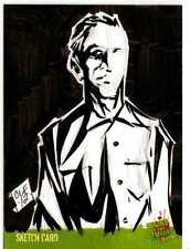 Night of the Living Dead Sketch Card drawn by Chris Foreman