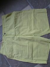 NEW MARC ECKO ZEST YELLOW FLAT FRONT SHORTS MENS 36 SLIM FIT FREE SHIP