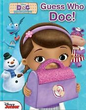 Guess Who: Disney Doc Mcstuffins Guess Who, Doc! 1 (2014, Hardcover)