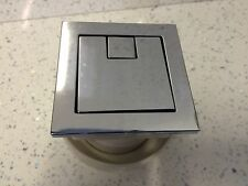 Twin Hose Toilet Push Button Dual Flush Air Type Pneumatic Square