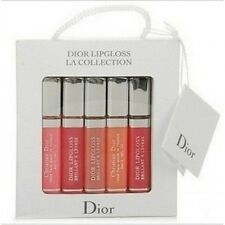 NEW DIOR  TRAVEL SIZE 5 PEACE LIP GLOSS GIFT SET - RRP £50