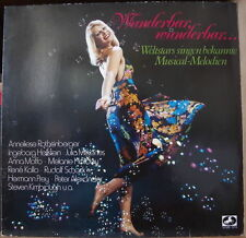 WUNDERBAR,WUNDERBAR... MOFFO/JÜRGENS/MIGENES AND MORE CHEESECAKE COVER FRENCH LP