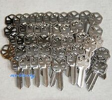 Locksmith - Lot 50 Uncut Nickel Ilco KW1,  Kwikset 1176  Key Blanks