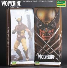 CRAZY TOY MARVEL COMICS X-MEN WOLVERINE 1/6 SCALE COLLECTIBLE ACTION FIGURE NIB
