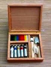 Painting Set for a Dolls House Not Real Paint it is a Miniature, 1.12 Scale