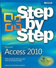 Step by Step: Microsoft® Access® 2010 by C. D. Frye, Joyce Cox and Joan...