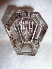"DARK SIDE COLLECTION CANDLE ABRA 2.75"" MINI COFFIN GLASS ASHTRAY"