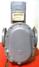 ROCKWELL MANUFACTURING CO. R-8 ROTO SEAL GAS METER, SERIAL 8110715, 125 MAX