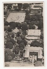 South Africa, Durban Girls College Aerial Real Photo Postcard, A717