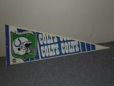 "Vintage 1990's Wincraft  30""x12"" NFL Football Felt Pennant Indianapolis Colts"